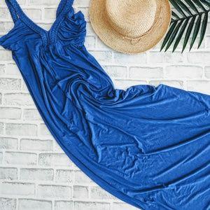 COLBALT BLUE maxi dress by Design History
